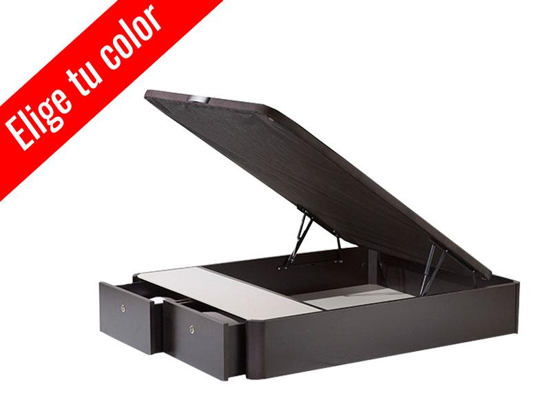 CANAPE 105X190 TILO CON CAJONES COLOR A ELEGIR 2