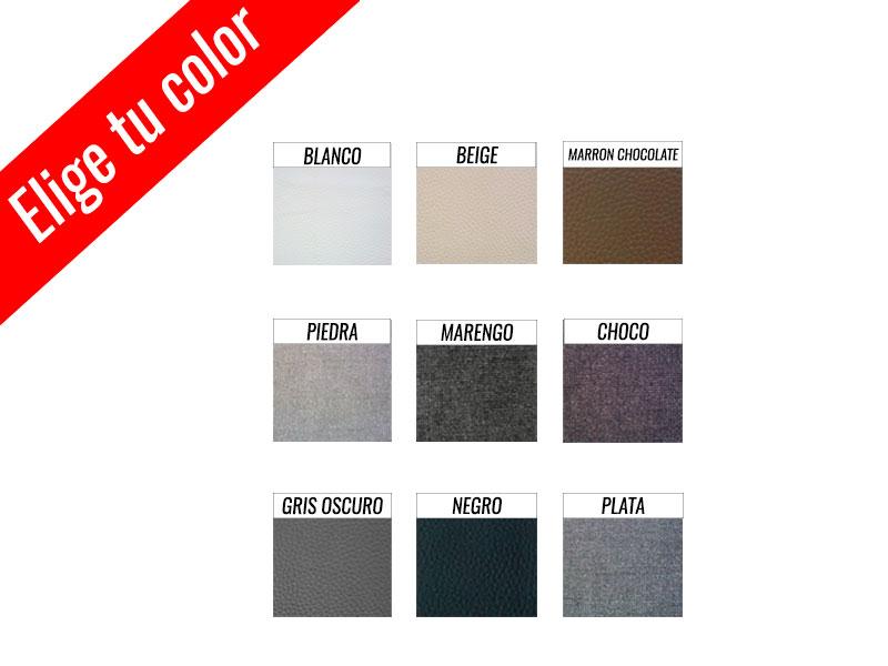 SOFA CLICK-CLACK CON BRAZON TAPIZADO A ELEGIR 2